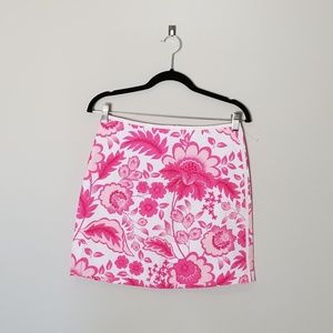 SOLD - Souther Tide Pink White Island Foral Reese